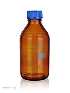Бутылки для реактивов темное стекло SIMAX, Чехия