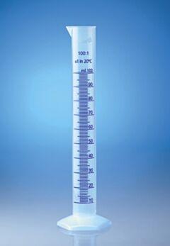 Цилиндр градуированный класса В высокий полипропиленовый VITLAB, Германия