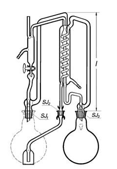 Аппарат для бидистилляции воды SIMAX, Чехия