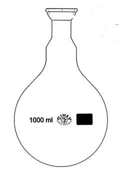 Колбы круглодонные для роторных испарителей со сферическим шлифом SIMAX, Чехия