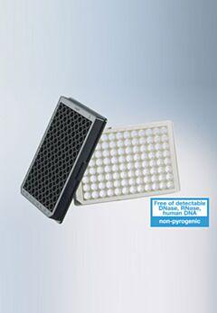 Планшеты микротитровальные из белого и черного полистирола  96-луночные с прозрачным дном. Greiner Bio-One GmbH, Германия