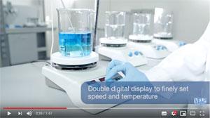 Магнитные мешалки с подогревом AREX Digital